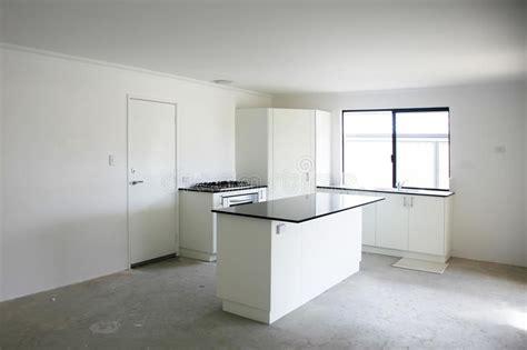 Empty kitchen stock photo. Image of contemporary, floor