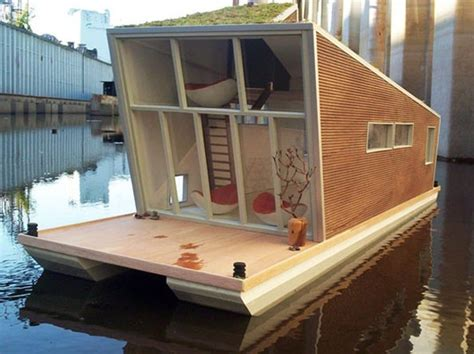 tiny boat house tiny house boat diy boats pinterest