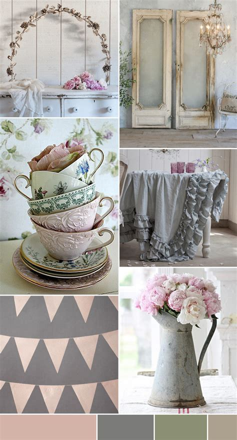 shabby chic wedding inspiration onefabday com