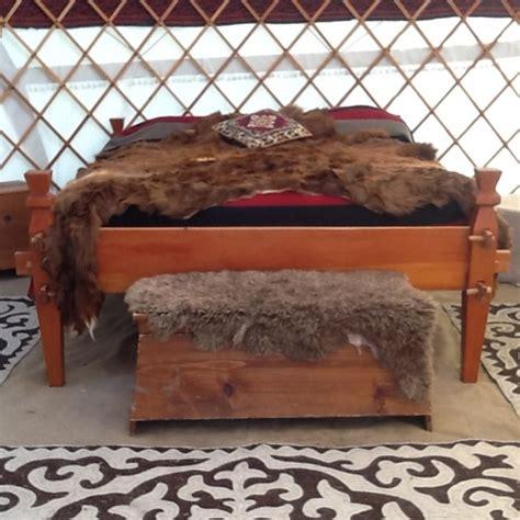 viking bed jurta and encment a magyar jurta my husband built