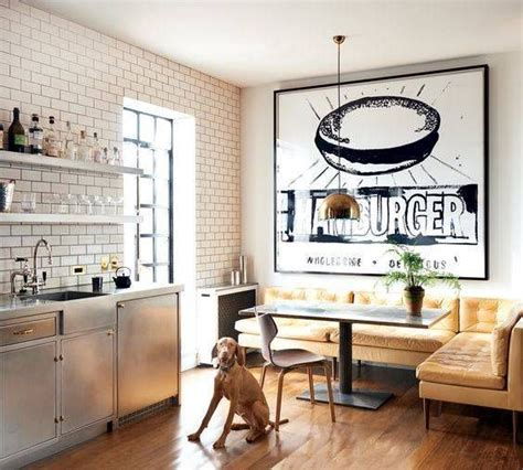 couch in kitchen nook 1000 ideas about small living dining on pinterest