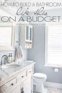 Great budgeting tips for bathroom remodel maisondepax com