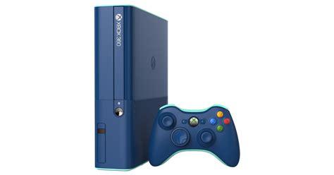 xbox e console xbox 360 e 500gb console limited edition blue