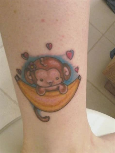 cute monkey tattoo designs pin baby monkey tattoos pictures 2 on