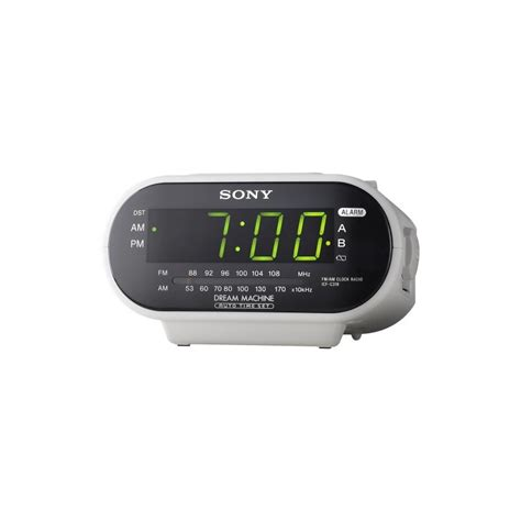 clock wifi sony clock radio wi fi