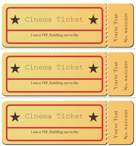 32 Best Vip Ticket Pass Template Designs For Your Events Thogati Create Vip Passes Templates