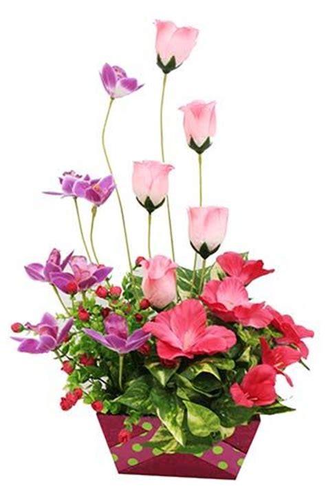 rosas para mama maceta con flores rosas centro de mesa manualidades