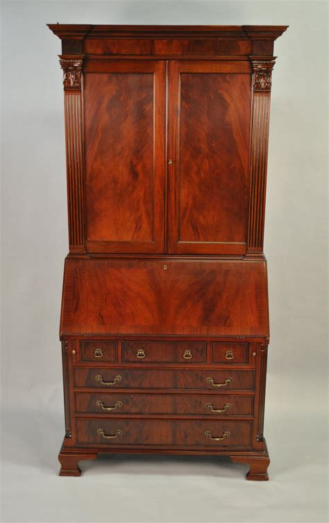 antique desk with mahogany antique styling colonial secretary desk ebay