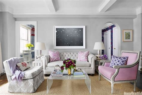 pink and grey living room pink and gray living room contemporary living room house beautiful