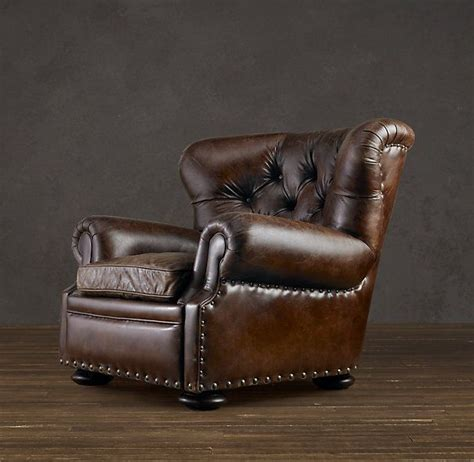 Restoration Hardware Recliner Churchill Leather Reclining Chair From Restoration Hardware A S Chair A Chair That Says