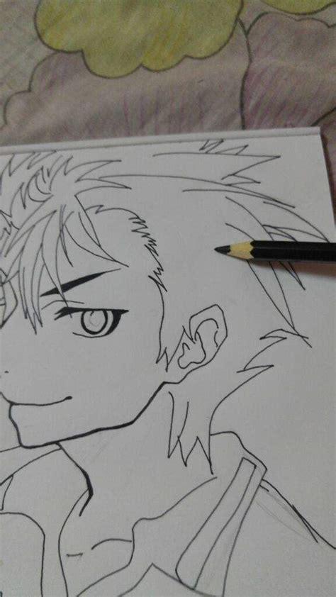 tutorial smudge coloring drawing tutorial nishinoya yuu anime amino