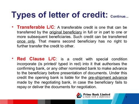 Transferable Letter Of Credit lc procedure hrtdc 1