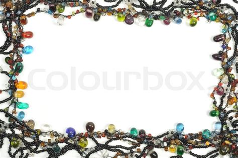 fashion jewelry framework isolated  stock photo