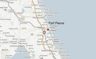 Fort Pierce Florida Map by Ft Pierce Location Guide