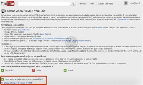 format video html5 firefox firefox ne lit plus les vid 233 os de youtube