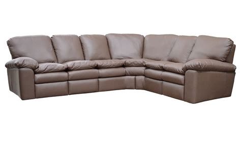 Reclining Leather Sectional Sofas El Dorado Leather
