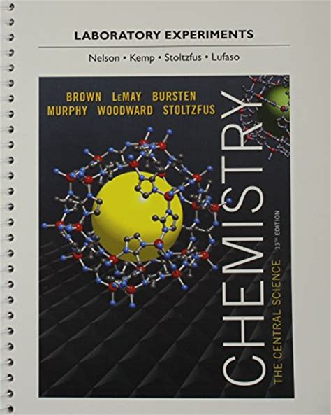 Pdf Chemistry Central Theodore E Brown by 9780321949912 Laboratory Experiments For Chemistry The