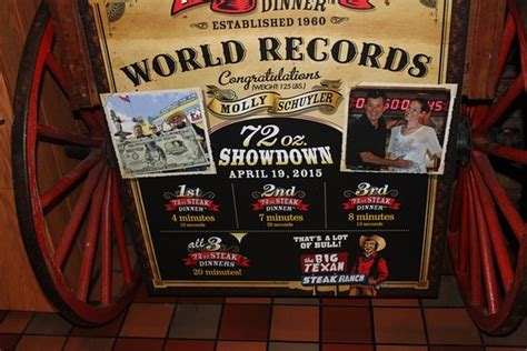 amarillo tx steak challenge steak challenge bild big texan steak ranch amarillo