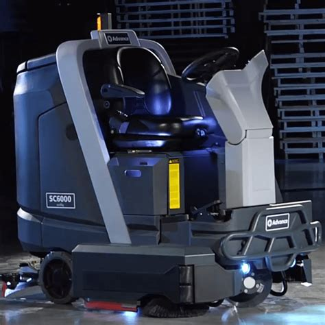Floor Ls Battery Operated by Advance Sc6000 Sweeper Scrubber Bortek Industries Inc 174