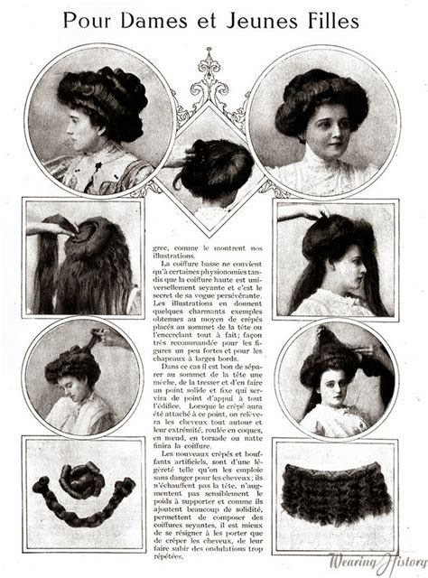 edwardian hairstyles history i love historical clothing edwardian hairstyles