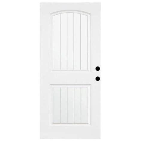 36 X 79 Exterior Door Steves Sons 36 In X 79 In Premium White 2 Panel Plank Primed Steel Front Door Slab St22 Pr