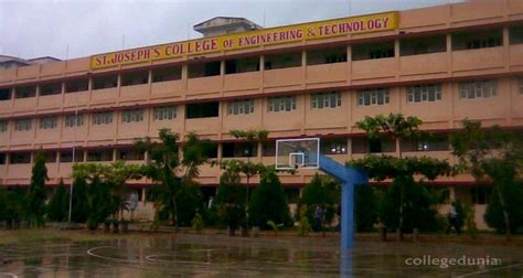 St Joseph College Chennai Mba by St Joseph S College Of Engineering And Technology