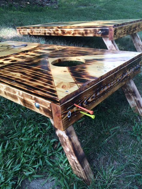 scoring corn hole diy cornhole boards designs diy