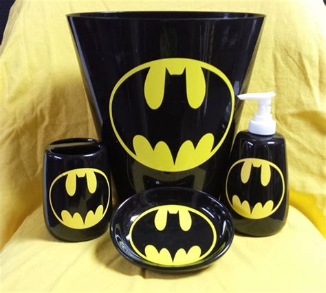 batman bathroom accessory set cool sh t i buy