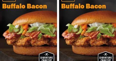 Mcd Buffalo Wings mcdonald s tests buffalo bacon signature crafted burger