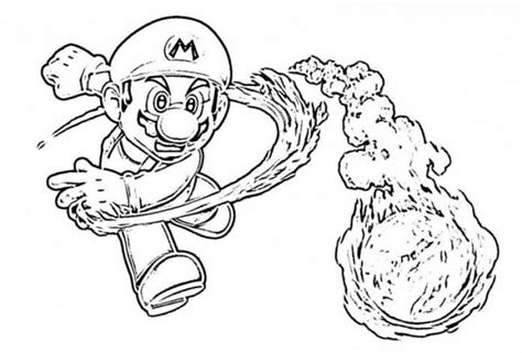 Mario Galaxy Coloring Pages mario galaxy coloring pages free large images