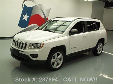 automotive air conditioning repair 2011 jeep compass auto manual find used 2011 jeep compass limited htd leather nav alloys 36k mi texas direct auto in stafford