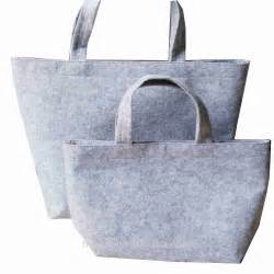 Tas Laptop Stylish handmade fashion stylish felt tote bags for shopping and