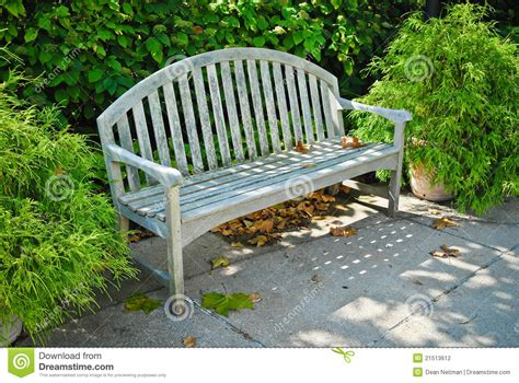 outdoor bench seats outdoor bench seat stock photography image 21513612