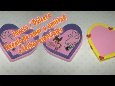 dulcero de corazon en fomi bbarte1blogspotcom joyero dulcero en foami para regalo de amor y amistad en