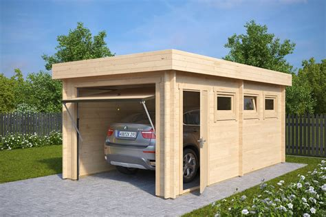 3x5 Shed by Modern Wooden Garage C With Up And Door 44mm 3 X