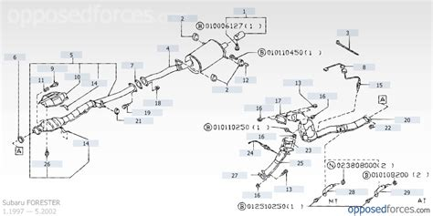 subaru forester exhaust system diagram pics for gt subaru exhaust system diagram