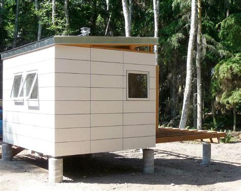 modern shed    cabin kit prefab forest getway