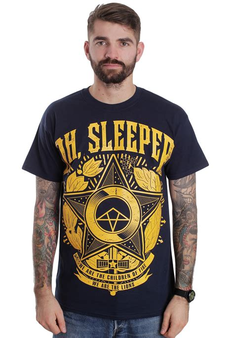 Oh Sleeper Website by Oh Sleeper We Are Navy T Shirt Official Metalcore