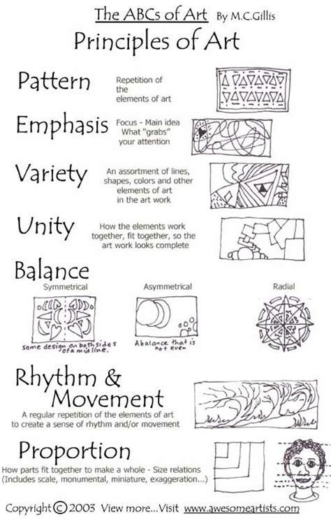principles of art pattern exles principles of design a heart for art pinterest