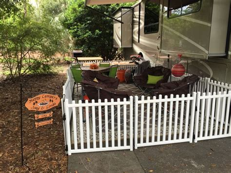 rv fence our rv fence purchased at picketplayfences for our two fur babies and