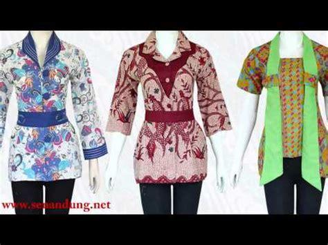 rancangan baju batik modern batik trusmi