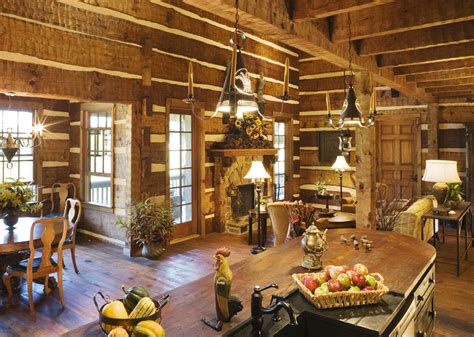 log home interiors