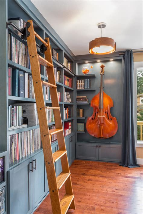 building a library room beautiful blue home library nook was once a disused corner