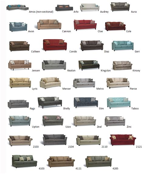 Types Of Couches Names by Distinctively Home Home Decor Furniture Gifts