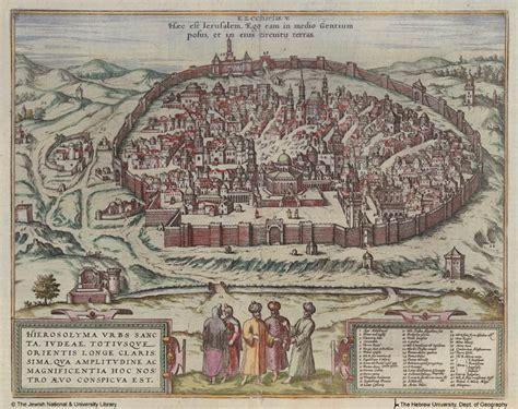 ancient map of jerusalem jerusalem artchive preteristarchive the s