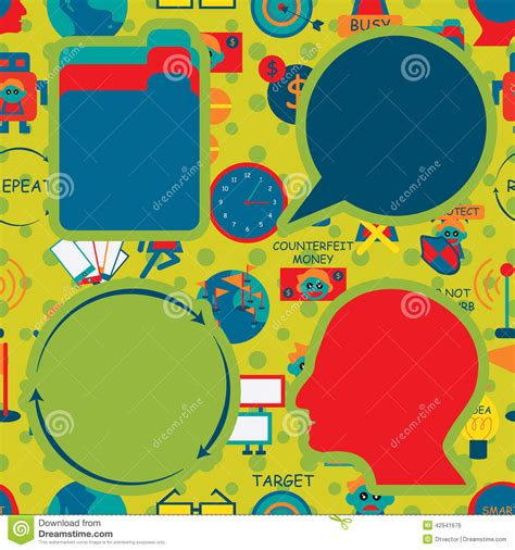 pattern energy group logo saving concept icon seamless pattern cartoon vector