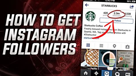 tutorial instagram followers how to get more instagram followers get real followers
