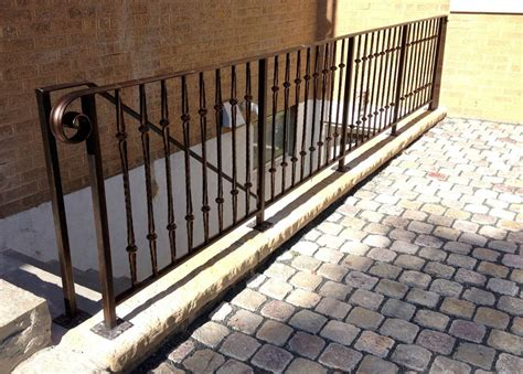 custom banisters custom railing fabrication installer for commercial