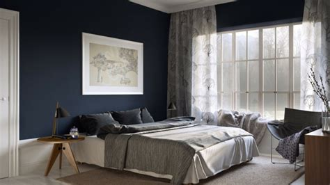 dark blue bedroom walls 70 walls painting ideas in dark shades fresh design pedia