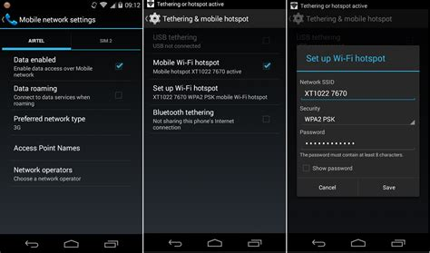 how to make a hotspot on android how to create wifi hotspot on android mobiles gadget gossips